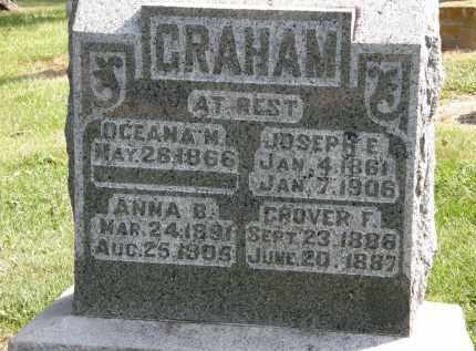 GRAHAM, JOSEPH E. - Delaware County, Ohio | JOSEPH E. GRAHAM - Ohio Gravestone Photos