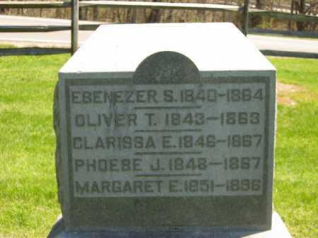 GRAY, EBENEZER S. - Delaware County, Ohio | EBENEZER S. GRAY - Ohio Gravestone Photos