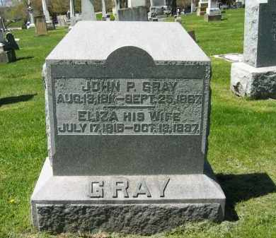 GRAY, ELIZA - Delaware County, Ohio | ELIZA GRAY - Ohio Gravestone Photos