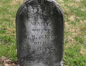 GREGG, MARY - Delaware County, Ohio | MARY GREGG - Ohio Gravestone Photos