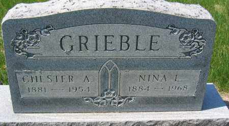 GRIEBLE, CHESTER A. - Delaware County, Ohio | CHESTER A. GRIEBLE - Ohio Gravestone Photos