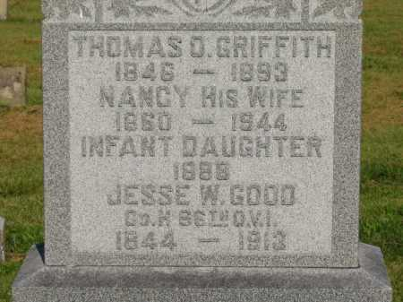 GRIFFITH, INFANT DAUGHTER - Delaware County, Ohio | INFANT DAUGHTER GRIFFITH - Ohio Gravestone Photos