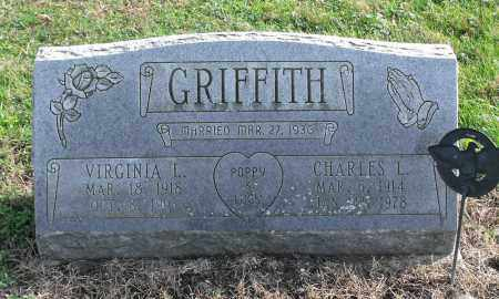 RAYSER GRIFFITH, VIRGINIA LUCILLE - Delaware County, Ohio | VIRGINIA LUCILLE RAYSER GRIFFITH - Ohio Gravestone Photos