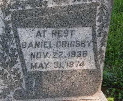 GRIGSBY, DANIEL - Delaware County, Ohio | DANIEL GRIGSBY - Ohio Gravestone Photos