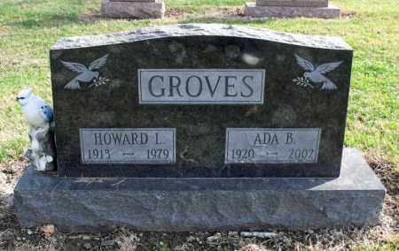 GROVES, HOWARD L. - Delaware County, Ohio | HOWARD L. GROVES - Ohio Gravestone Photos