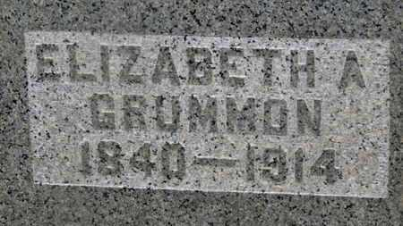 GRUMMON, ELIZABETH A. - Delaware County, Ohio | ELIZABETH A. GRUMMON - Ohio Gravestone Photos