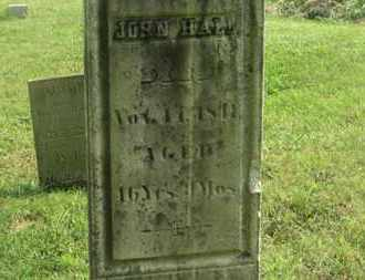 HALL, JOHN - Delaware County, Ohio | JOHN HALL - Ohio Gravestone Photos
