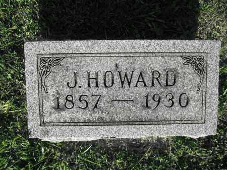 HAMNER, J. HOWARD - Delaware County, Ohio | J. HOWARD HAMNER - Ohio Gravestone Photos