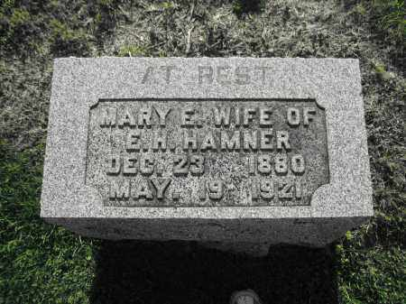 HAMNER, MARY E. - Delaware County, Ohio | MARY E. HAMNER - Ohio Gravestone Photos