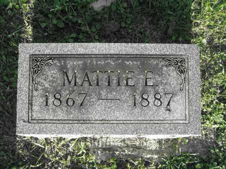 HAMNER, MATTIE E. - Delaware County, Ohio | MATTIE E. HAMNER - Ohio Gravestone Photos