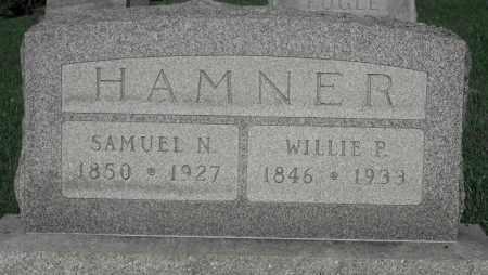 HAMNER, WILLIE P. - Delaware County, Ohio | WILLIE P. HAMNER - Ohio Gravestone Photos