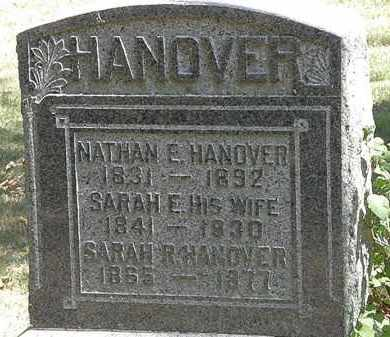 HANOVER, SARAH R. - Delaware County, Ohio | SARAH R. HANOVER - Ohio Gravestone Photos