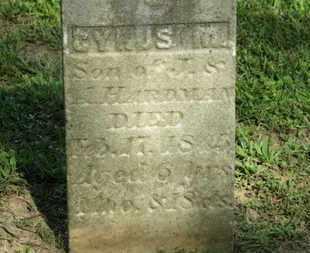 HARDMAN, A. - Delaware County, Ohio | A. HARDMAN - Ohio Gravestone Photos