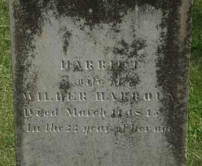 HARROUN, HARRIET - Delaware County, Ohio | HARRIET HARROUN - Ohio Gravestone Photos