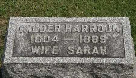 HARROUN, SARAH - Delaware County, Ohio | SARAH HARROUN - Ohio Gravestone Photos