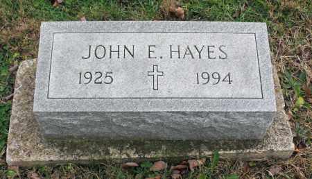 HAYES, JOHN E. - Delaware County, Ohio | JOHN E. HAYES - Ohio Gravestone Photos