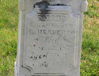 HEAVERLO, JACOB - Delaware County, Ohio | JACOB HEAVERLO - Ohio Gravestone Photos
