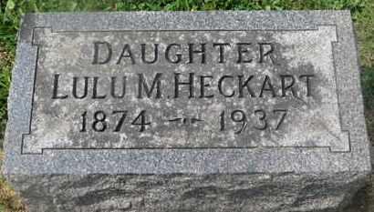 HECKART, LULU M. - Delaware County, Ohio | LULU M. HECKART - Ohio Gravestone Photos