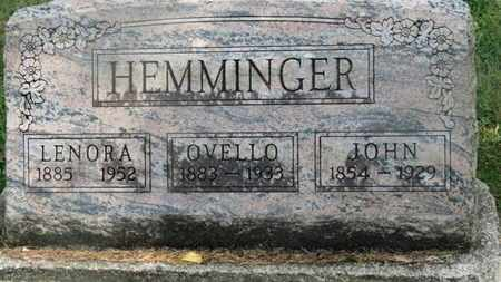 HEMMINGER, LENORA - Delaware County, Ohio | LENORA HEMMINGER - Ohio Gravestone Photos