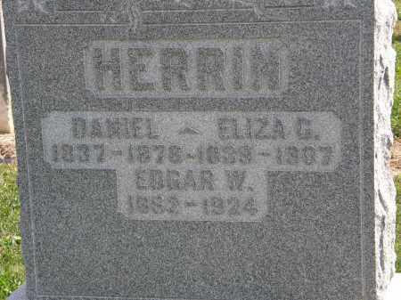 HERRIN, DANIEL - Delaware County, Ohio | DANIEL HERRIN - Ohio Gravestone Photos