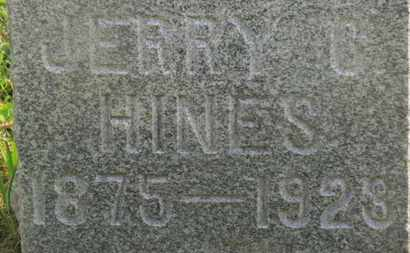 HINES, JERRY G. - Delaware County, Ohio | JERRY G. HINES - Ohio Gravestone Photos
