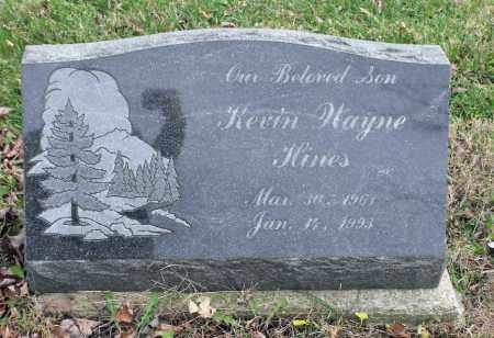 HINES, KEVIN WAYNE - Delaware County, Ohio | KEVIN WAYNE HINES - Ohio Gravestone Photos