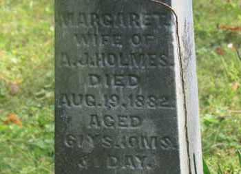 HOLMES, A.J. - Delaware County, Ohio | A.J. HOLMES - Ohio Gravestone Photos