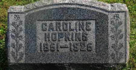 HOPKINS, CAROLINE - Delaware County, Ohio | CAROLINE HOPKINS - Ohio Gravestone Photos