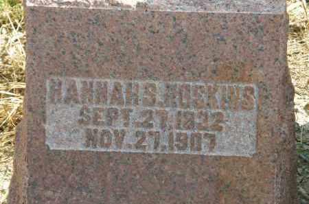 HOSKINS, HANNAH S. - Delaware County, Ohio | HANNAH S. HOSKINS - Ohio Gravestone Photos