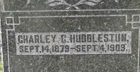 HUDDLESTUN, CHARLEY C. - Delaware County, Ohio | CHARLEY C. HUDDLESTUN - Ohio Gravestone Photos