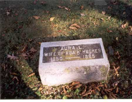 TURNER HUGHES, AURA L. - Delaware County, Ohio | AURA L. TURNER HUGHES - Ohio Gravestone Photos
