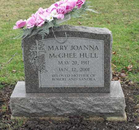 MCGHEE HULL, MARY JOANNA - Delaware County, Ohio | MARY JOANNA MCGHEE HULL - Ohio Gravestone Photos