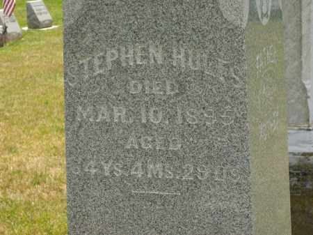 HULTS, STEPHEN - Delaware County, Ohio | STEPHEN HULTS - Ohio Gravestone Photos