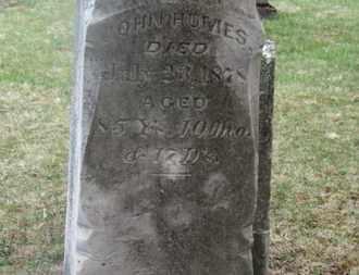 HUMES, JOHN - Delaware County, Ohio | JOHN HUMES - Ohio Gravestone Photos