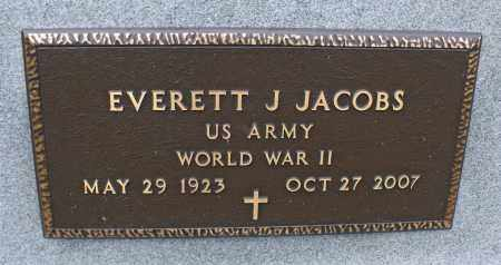 JACOBS, EVERETT J. - Delaware County, Ohio | EVERETT J. JACOBS - Ohio Gravestone Photos