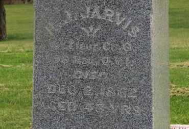 JARVIS, H.J. - Delaware County, Ohio | H.J. JARVIS - Ohio Gravestone Photos