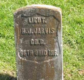 JARVIS, LIEUT. J. H. - Delaware County, Ohio | LIEUT. J. H. JARVIS - Ohio Gravestone Photos