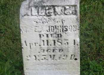 JOHNSON, ALLEN C. - Delaware County, Ohio | ALLEN C. JOHNSON - Ohio Gravestone Photos