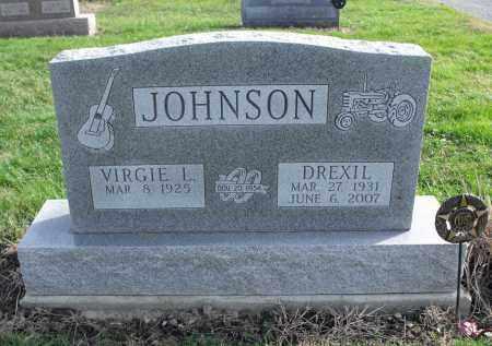 JOHNSON, DREXIL - Delaware County, Ohio | DREXIL JOHNSON - Ohio Gravestone Photos