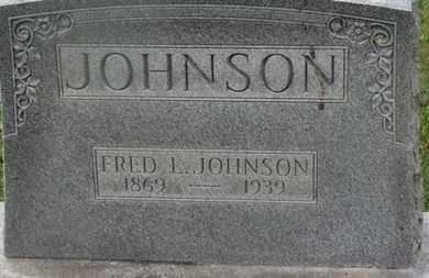 JOHNSON, FRED L. - Delaware County, Ohio | FRED L. JOHNSON - Ohio Gravestone Photos