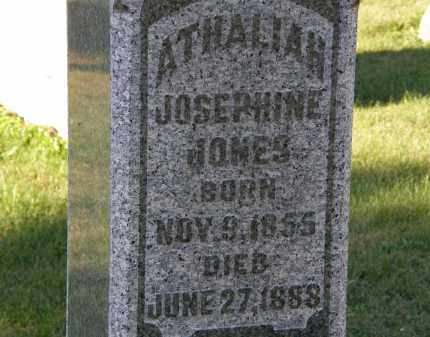 JONES, ATHALIAH JOSEPHINE - Delaware County, Ohio | ATHALIAH JOSEPHINE JONES - Ohio Gravestone Photos