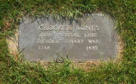 JONES, CROCKER - Delaware County, Ohio | CROCKER JONES - Ohio Gravestone Photos