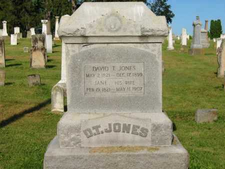 JONES, DAVID T. - Delaware County, Ohio | DAVID T. JONES - Ohio Gravestone Photos