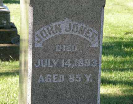 JONES, JOHN - Delaware County, Ohio | JOHN JONES - Ohio Gravestone Photos