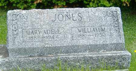 JONES, WILLIAM M. - Delaware County, Ohio | WILLIAM M. JONES - Ohio Gravestone Photos