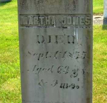 JONES, MARTHA - Delaware County, Ohio | MARTHA JONES - Ohio Gravestone Photos
