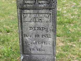 JONES, WILLIAM W. - Delaware County, Ohio | WILLIAM W. JONES - Ohio Gravestone Photos