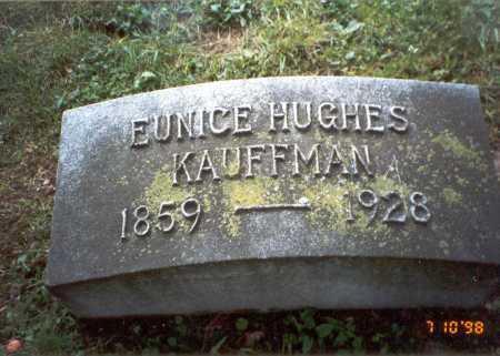 HUGHES KAUFFMAN, EUNICE - Delaware County, Ohio | EUNICE HUGHES KAUFFMAN - Ohio Gravestone Photos