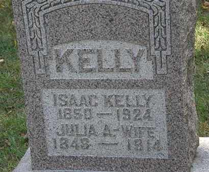 KELLY, JULIA A. - Delaware County, Ohio | JULIA A. KELLY - Ohio Gravestone Photos