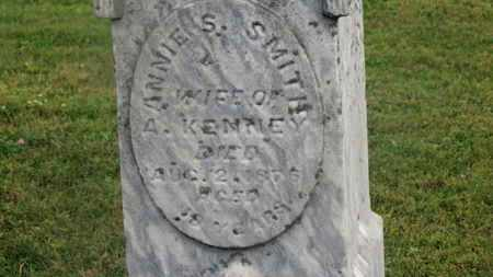 SMITH KENNEY, ANNIE S. - Delaware County, Ohio | ANNIE S. SMITH KENNEY - Ohio Gravestone Photos